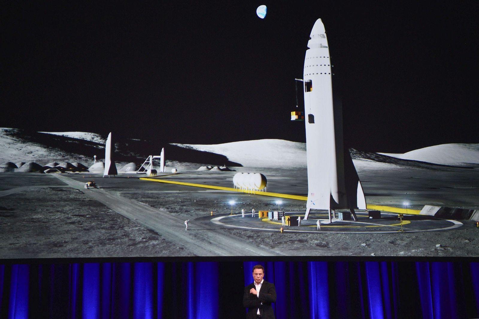 Elon Musk, fundador de SpaceX