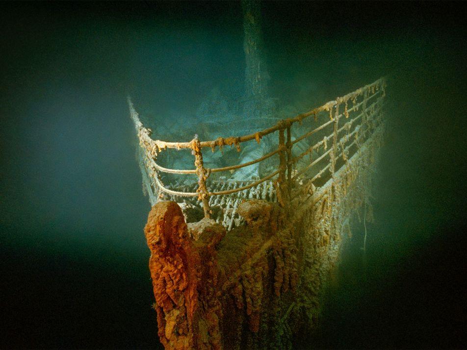 Los restos del Titanic se descubrieron en una misión militar secreta durante la Guerra Fría