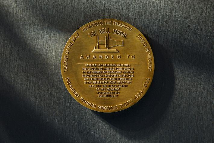 Medalla Alexander Graham Bell