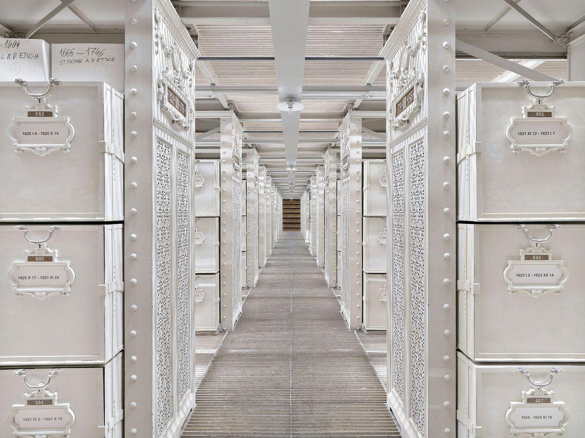 Archivo Nacional de Austria, Viena, Austria