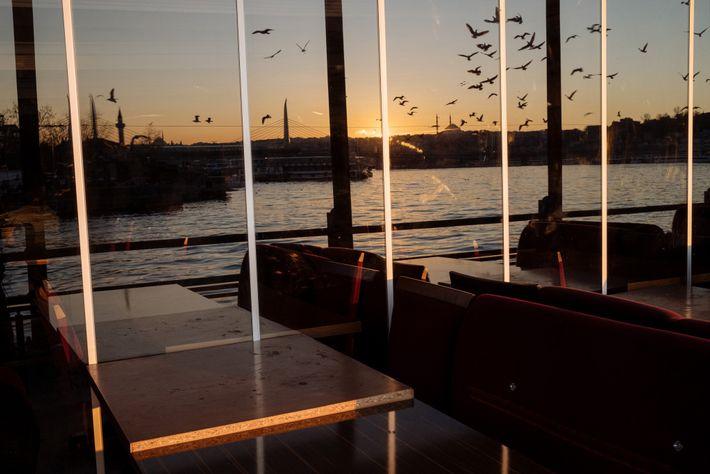 Restaurante de Estambul