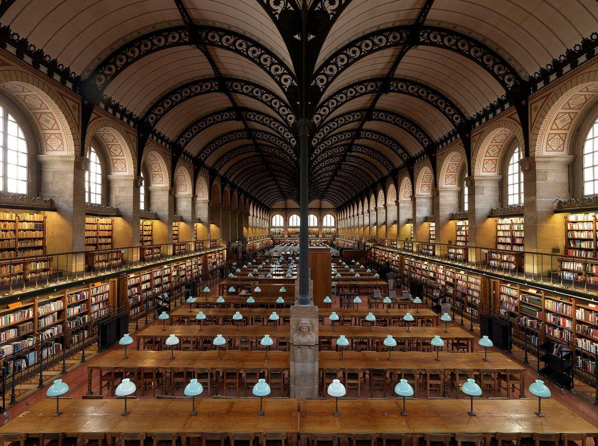 Biblioteca de Santa Genoveva, París, Francia