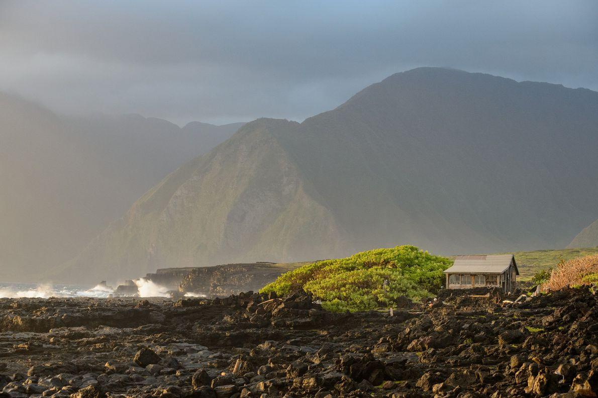 Cabaña de pesca, Kalaupapa
