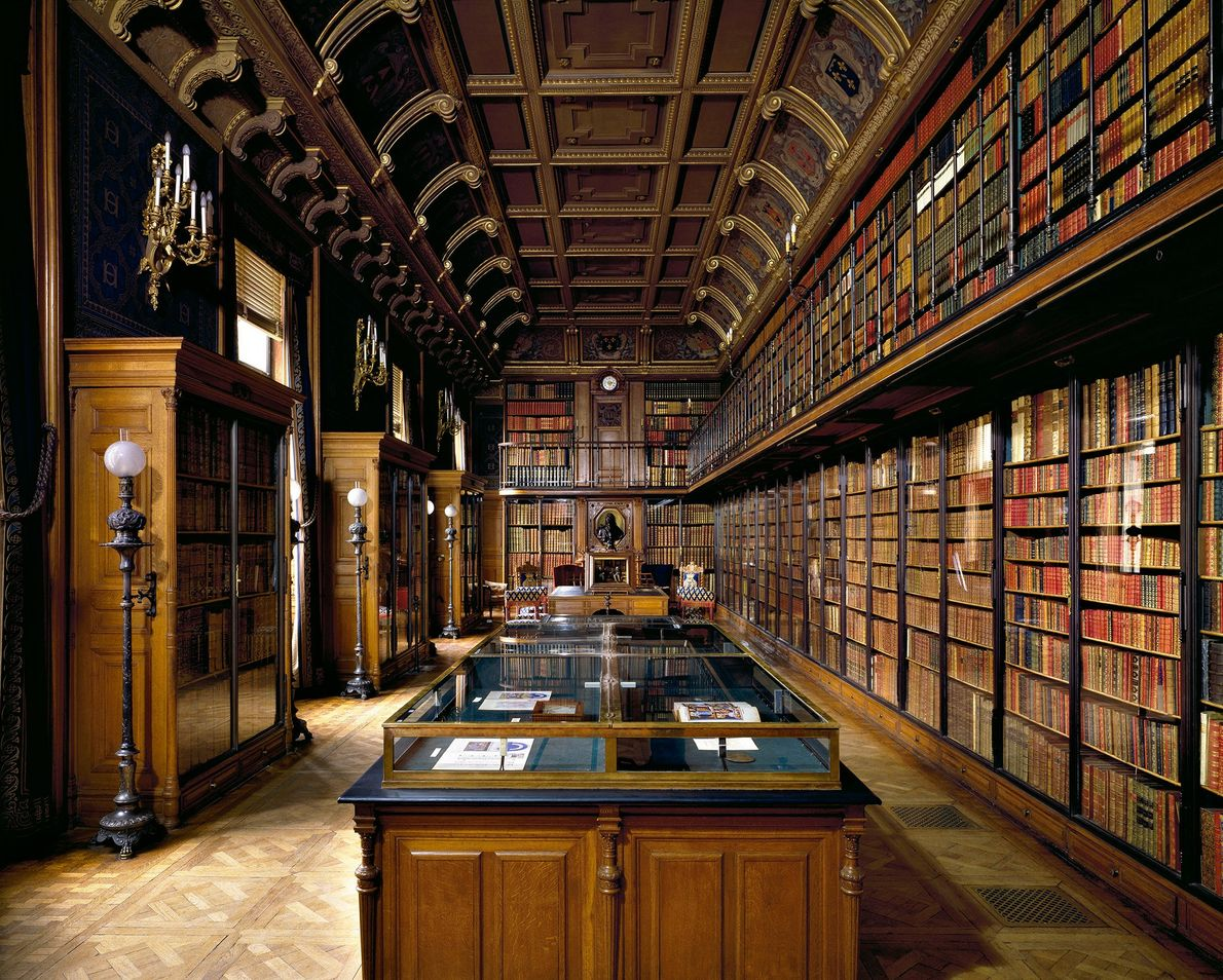 Biblioteca del duque de Aumale, Chantilly, Francia