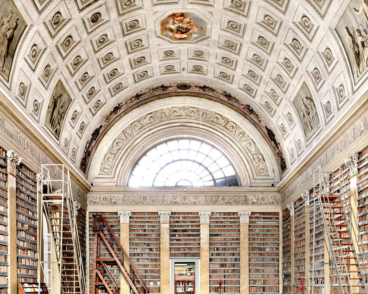 Biblioteca Palatina, Parma, Italia