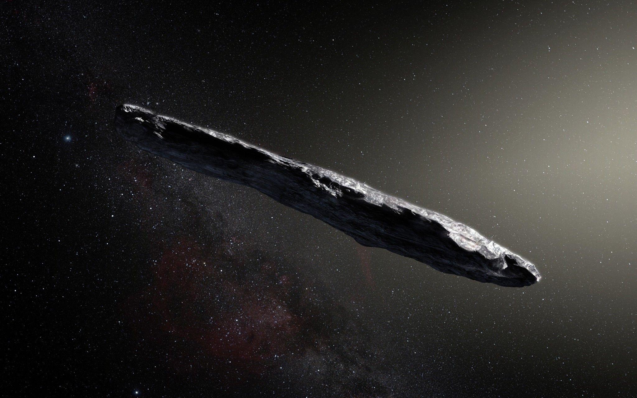 El objeto interestelar 'Oumuamua podría ser un fragmento de un ...