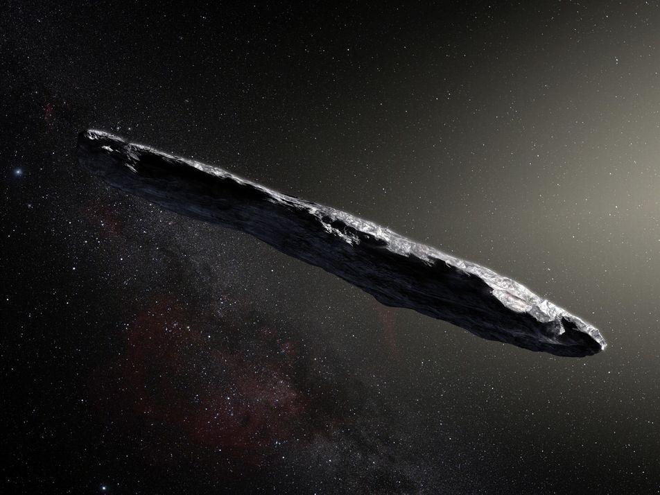 El objeto interestelar 'Oumuamua podría ser un fragmento de un planeta muerto