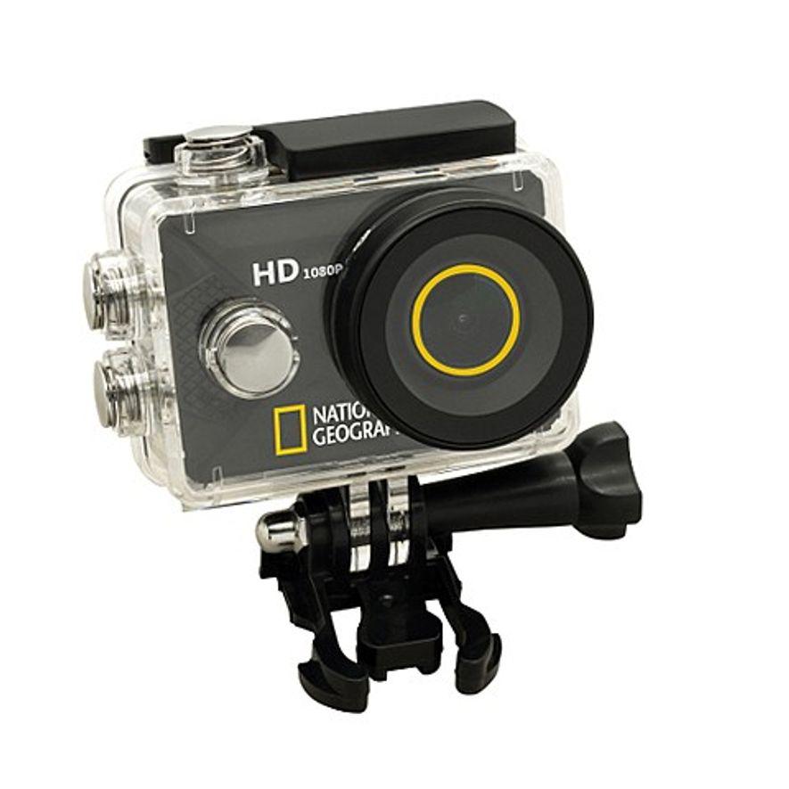 Cámara de aventura National Geographic Full HD Action Cam de 12 MP