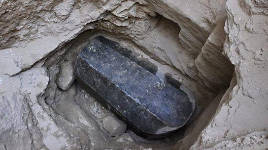 Sarcófago de granito