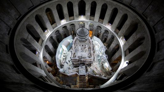 La tumba de Jesucristo, al descubierto por primera vez en siglos