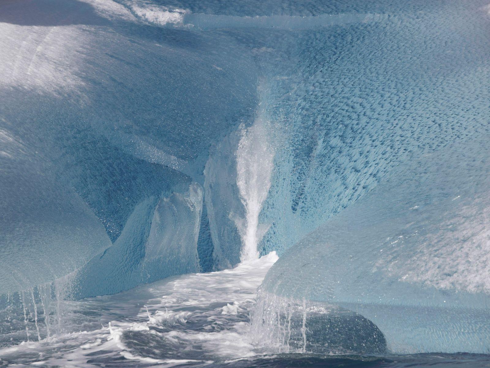Un iceberg en Groenlandia