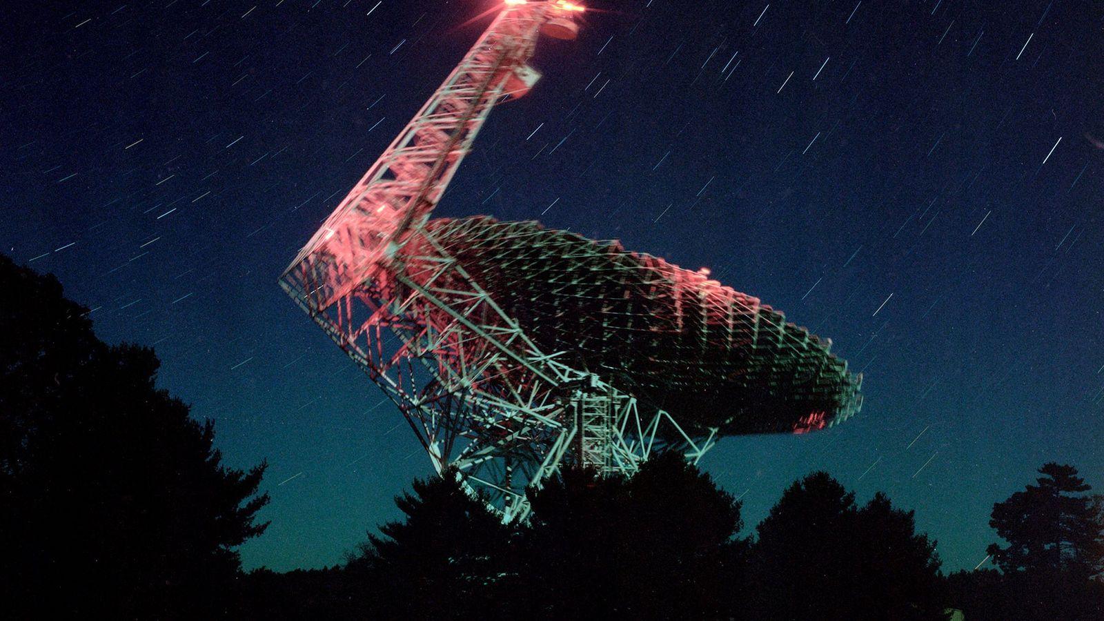 El telescopio de Green Bank