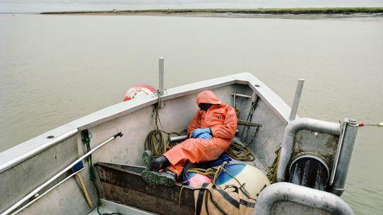 Pescador durmiendo