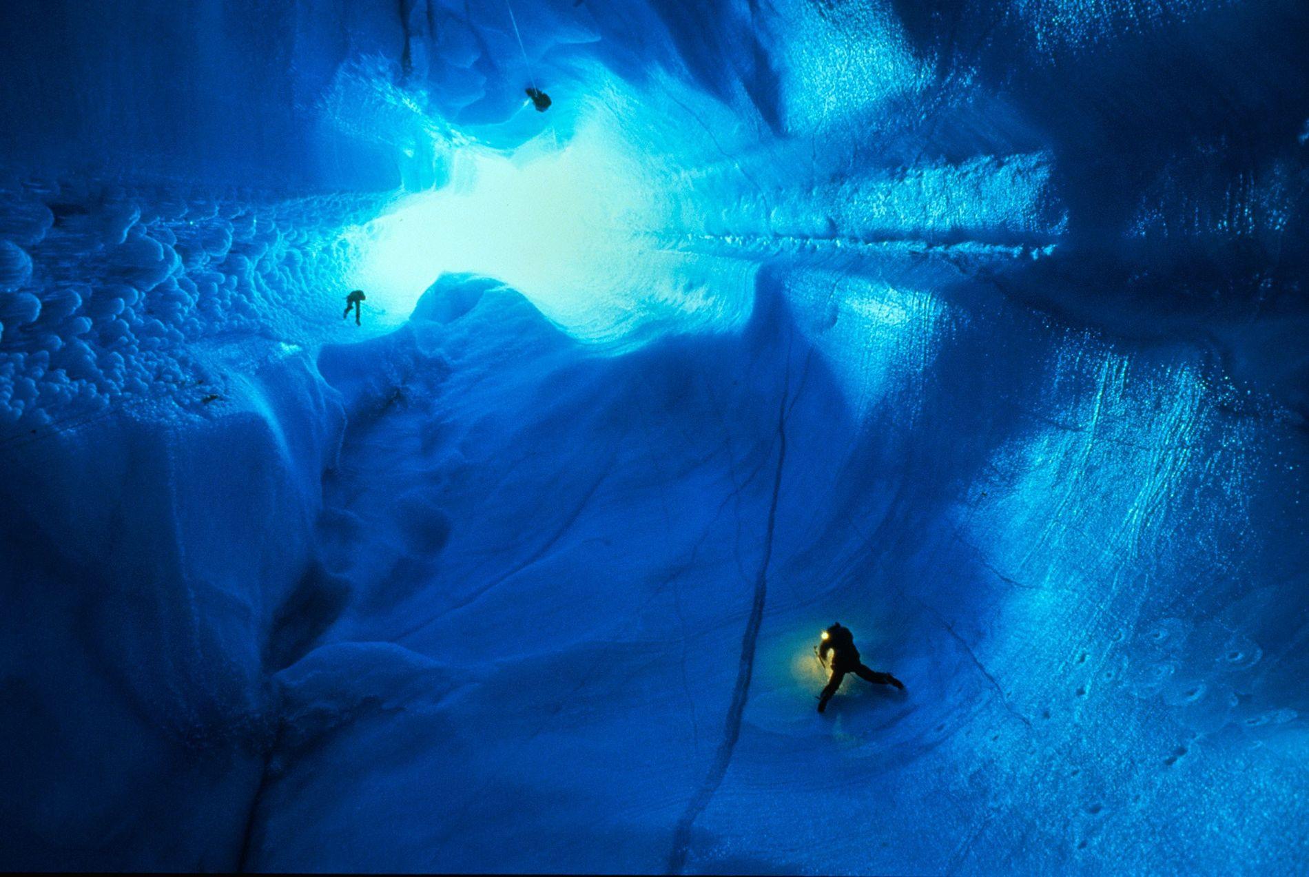 Casquete glaciar en Groenlandia