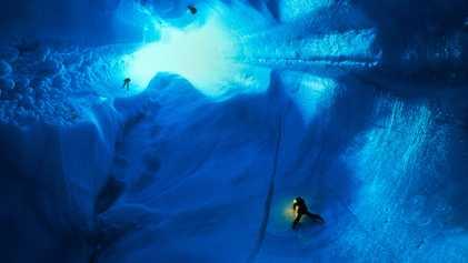 Los casquetes glaciares de Groenlandia contienen pruebas del aumento del nivel del mar