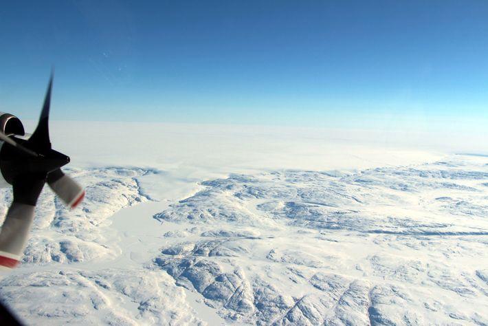 El glaciar Hiawatha
