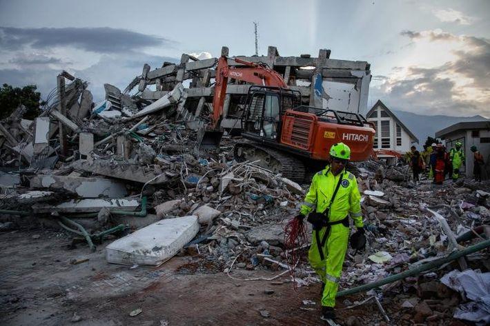 Trabajadores de rescate