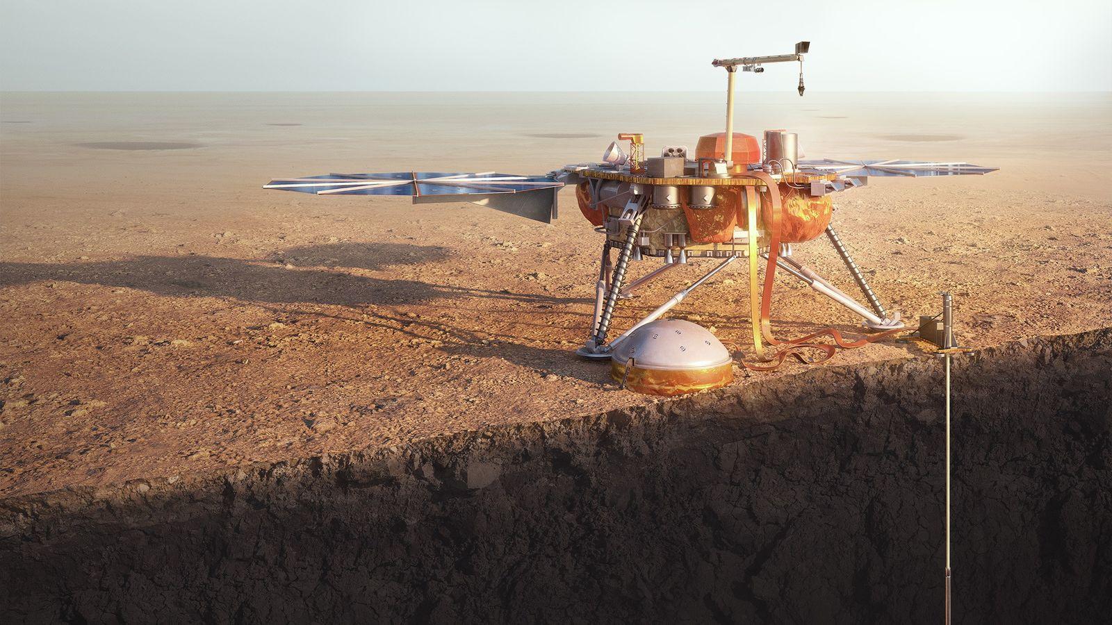 El aterrizador InSight