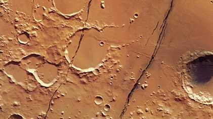 Descubren en Marte la primera zona sísmica activa
