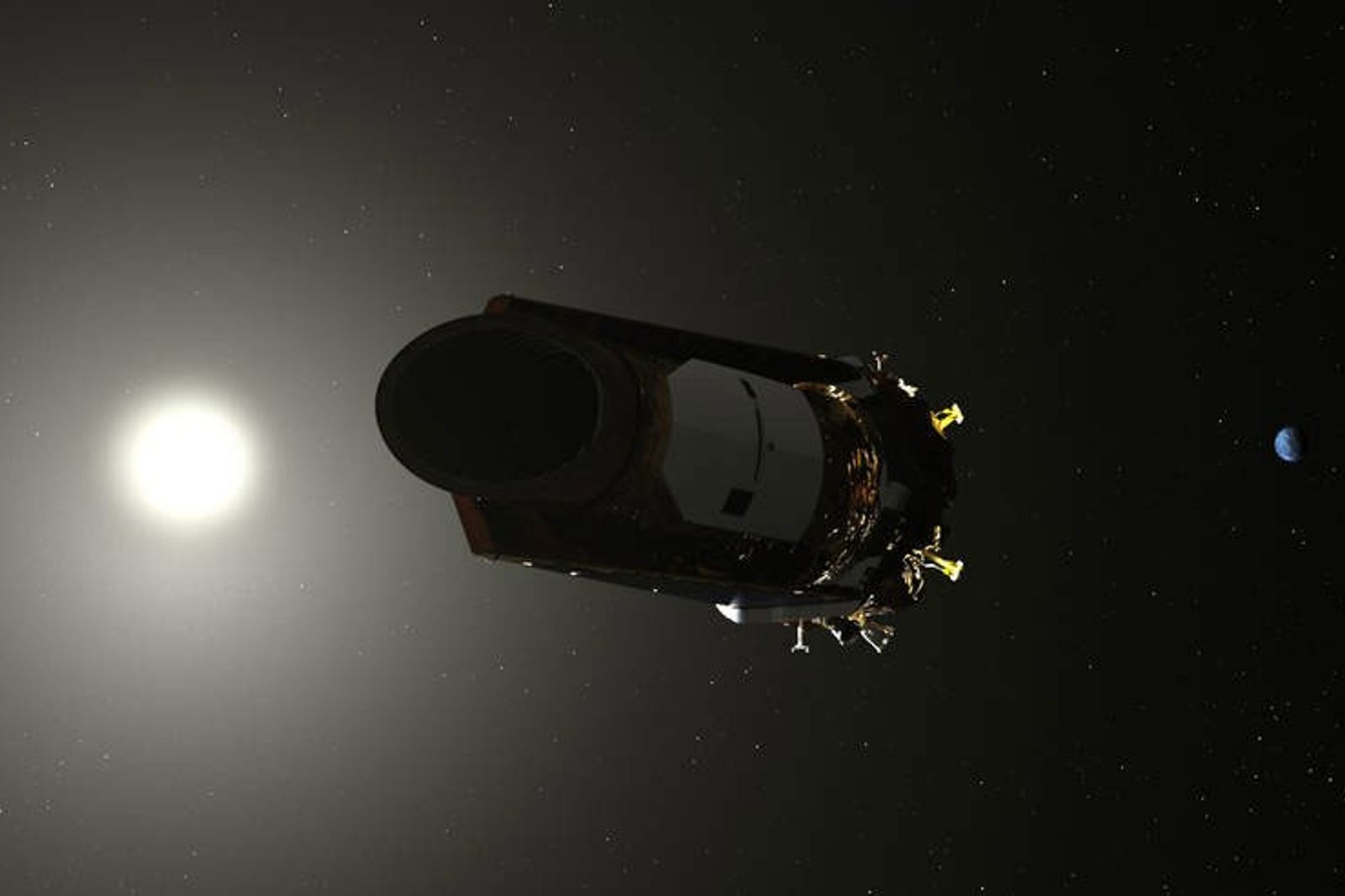 El telescopio espacial Kepler