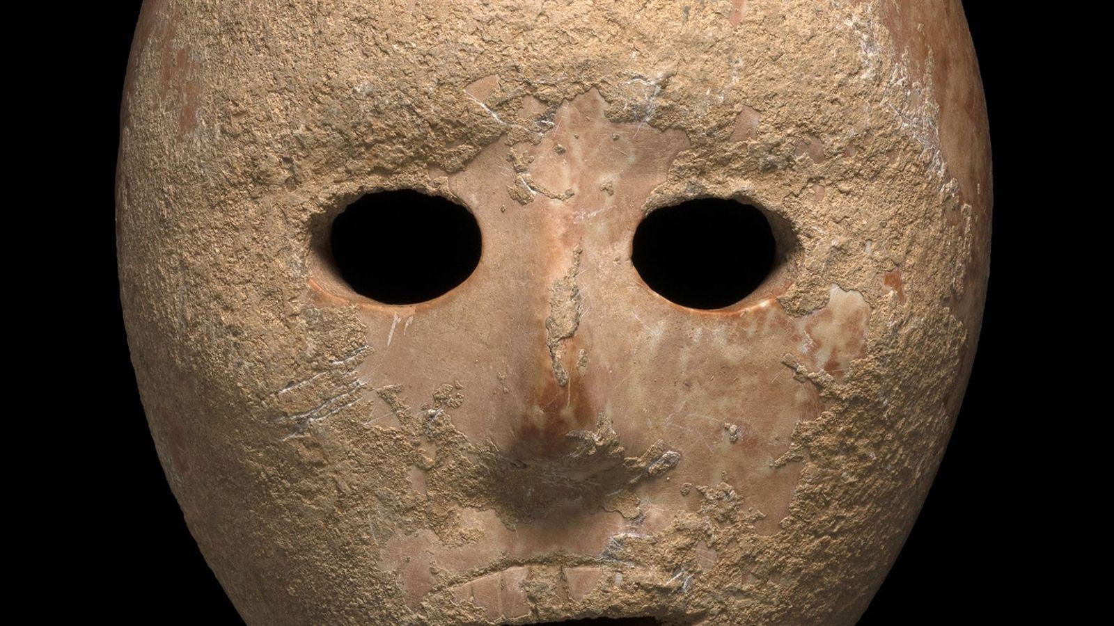 Máscara de caliza