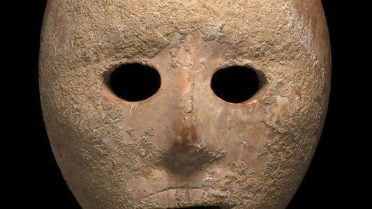 Esta máscara de 9.000 años desconcierta a los arqueólogos