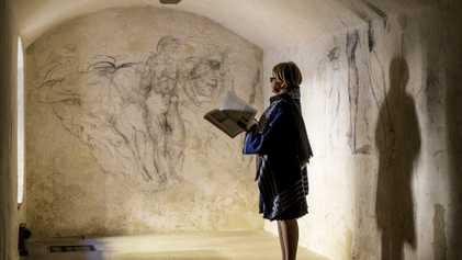 Exclusiva: Descubierta una sala secreta con obras maestras «perdidas» de Miguel Ángel