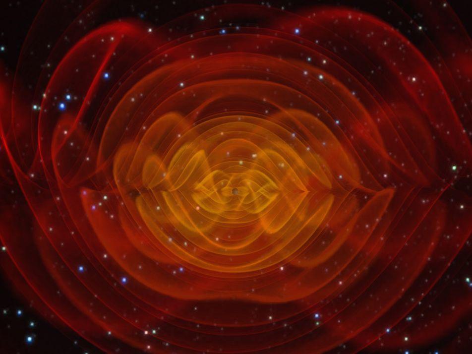 Te explicamos qué son las ondas gravitacionales, cuya detección ha sido galardonada con el Nobel de ...