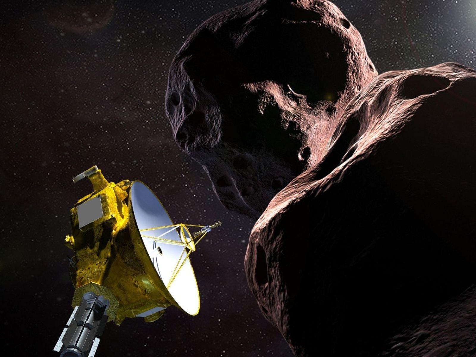 New Horizons y Ultima Thule