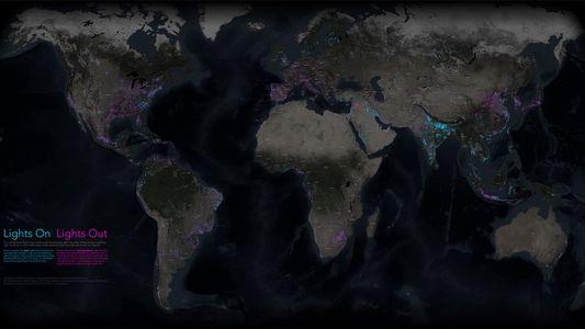 ¿Qué países del planeta se han oscurecido y cuáles se han iluminado en cuatro años? Este ...