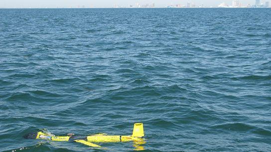 Planeador submarino