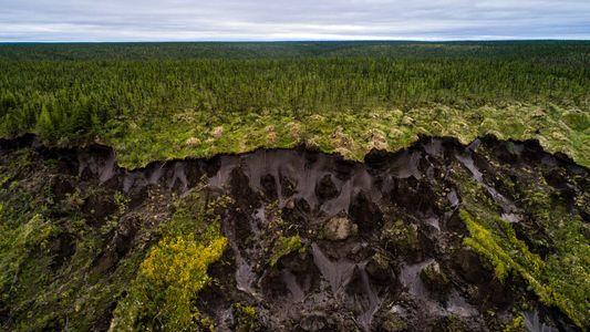 Parte del suelo del Ártico ya no se congela, ni siquiera en invierno