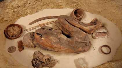 Esta momia contiene la receta egipcia de embalsamamiento más antigua que se conoce