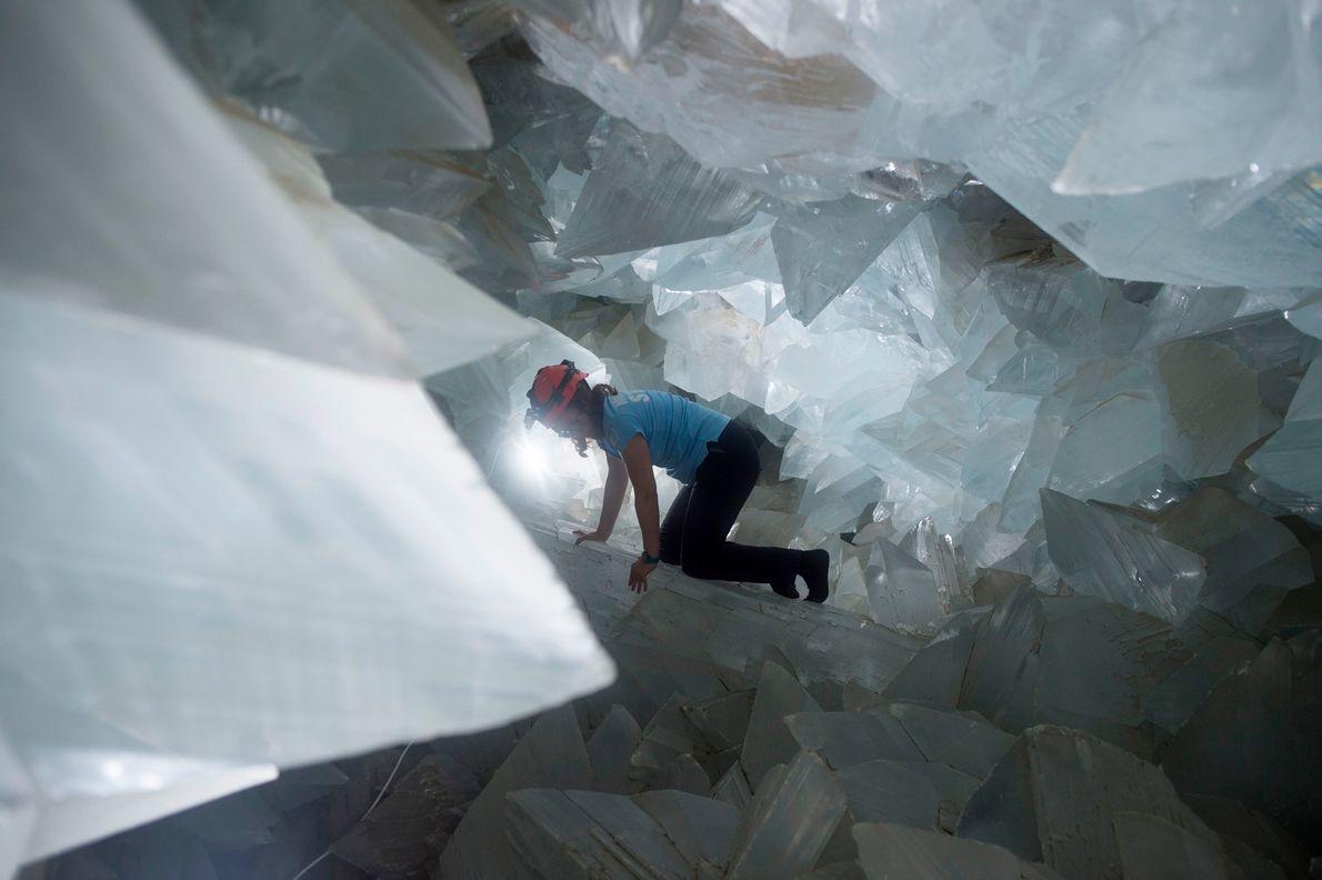 Descubren cómo se formó la extraña cueva de cristales de Pulpí