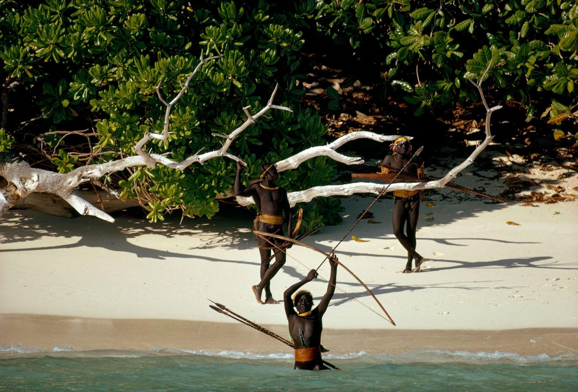 La tribuSentinelese (Islas Andaman)