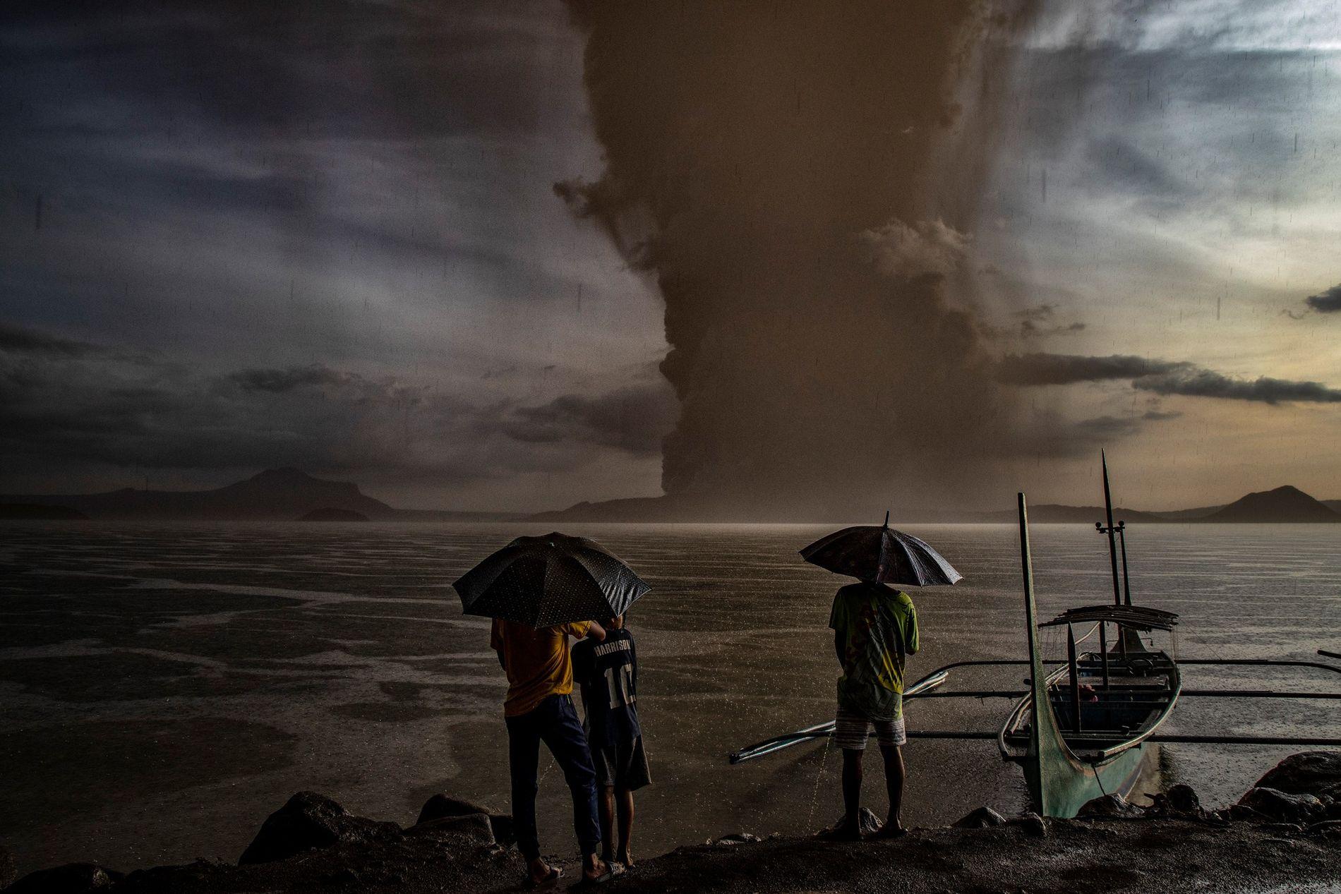 Volcán Taal, Filipinas