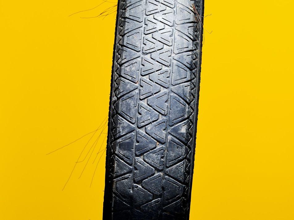 Los neumáticos son una gran fuente de contaminación por plástico