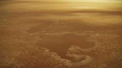 Los lagos de la mayor luna de Saturno podrían haber sido fruto de explosiones