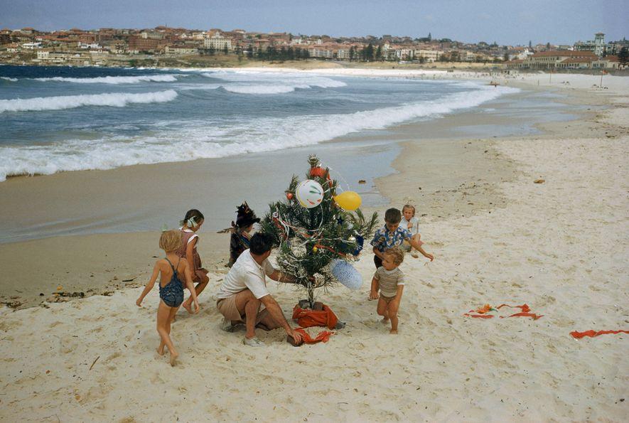 En el hemisferio sur, la Navidad llega en verano, por lo que es un tipo de ...
