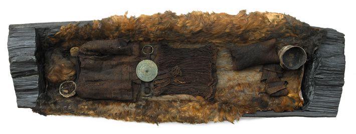 Imagen de los restos de una joven de hace más de 3.000 años