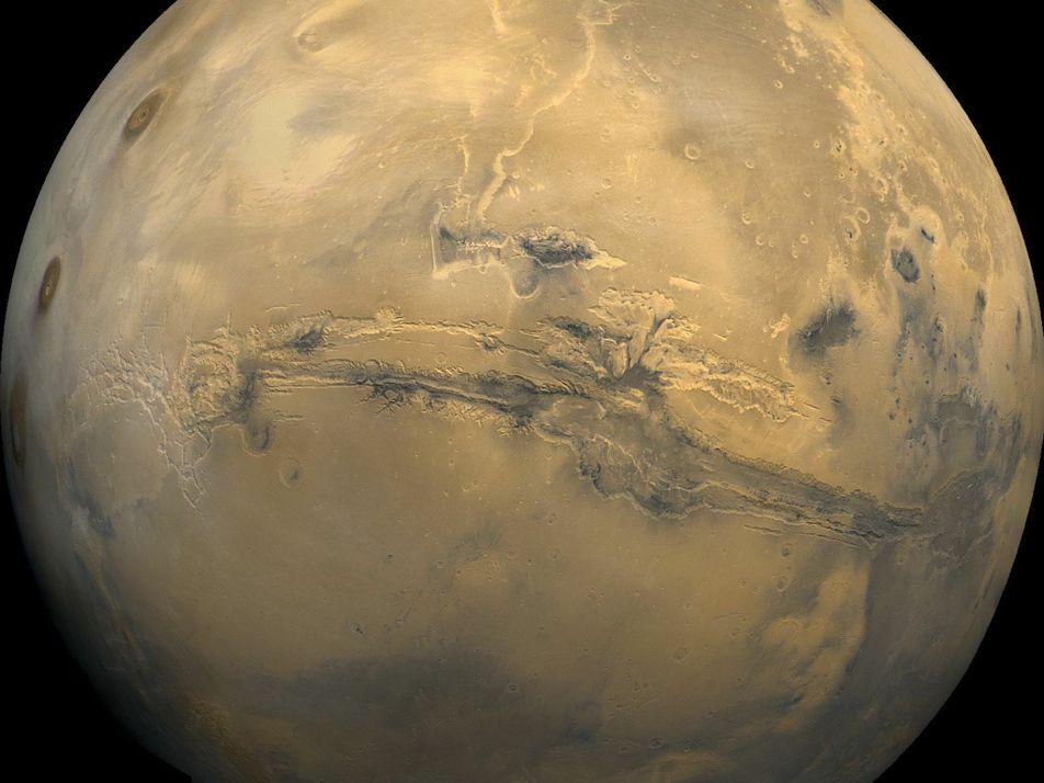 Instantáneas de Marte, el planeta rojo