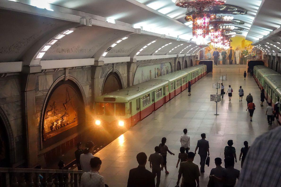 Metro de Piongyang
