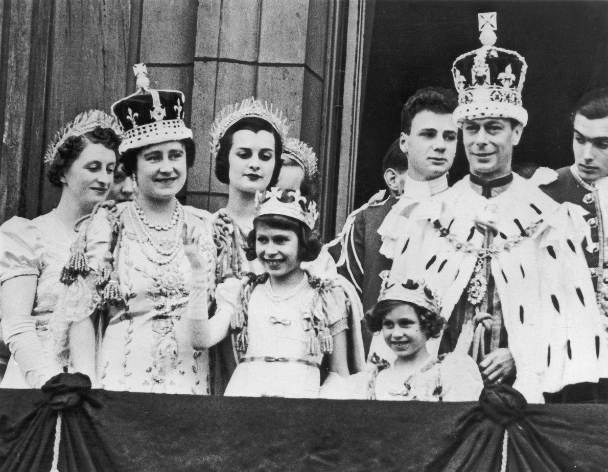 Imagen de la Reina Isabel