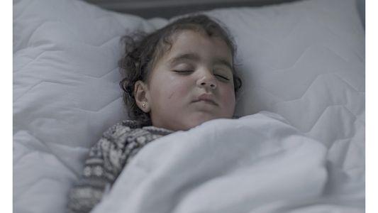 Devastadoras fotos muestran dónde duermen los niños refugiados