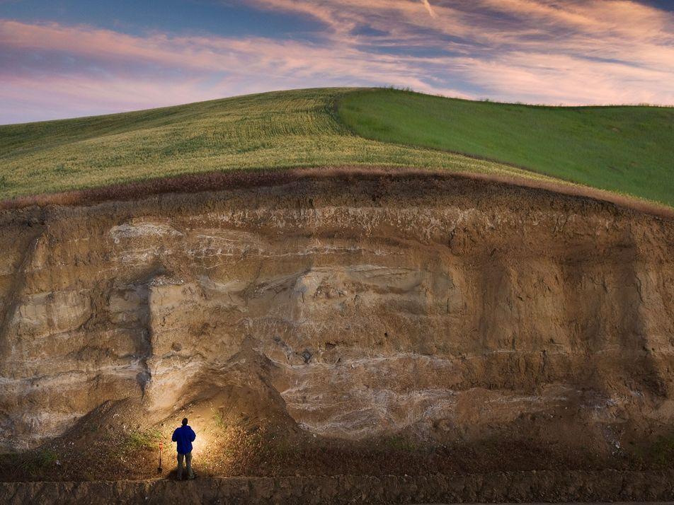 Fotografías que demuestran la importancia del suelo