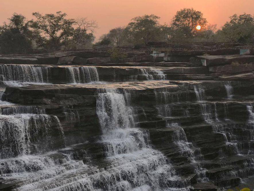El remoto santuario de fauna silvestre de Chandraprabha, en el norte de la India, era el hogar de los adivasi, moradores del bosque.
