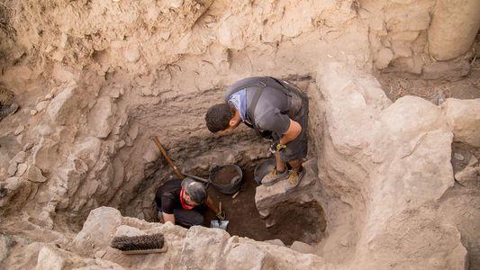 Imágenes del yacimiento de el-Araj