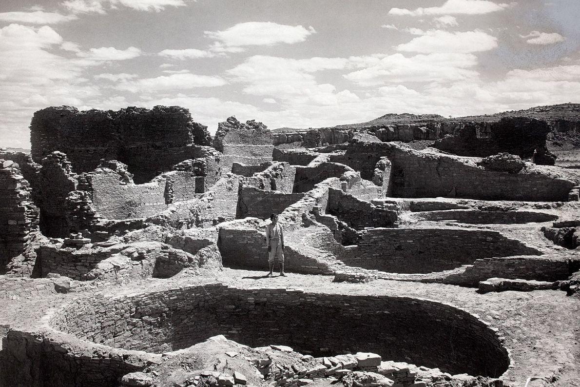 National Geographic se asoció con el Smithsonian en la década de 1920 para una excavación plurianual …