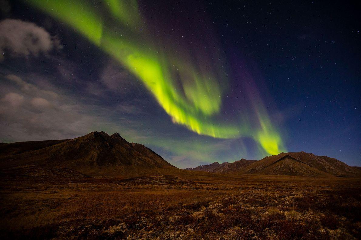 Aurora en Yukón