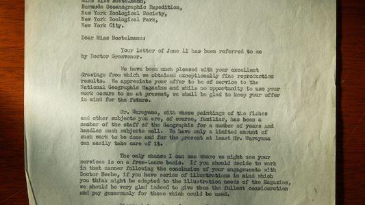 Explora las cartas de la tripulación de la batisfera de nuestro archivo